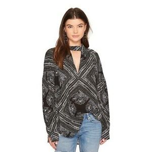 NWT Free People Tunic Blouse - Size S